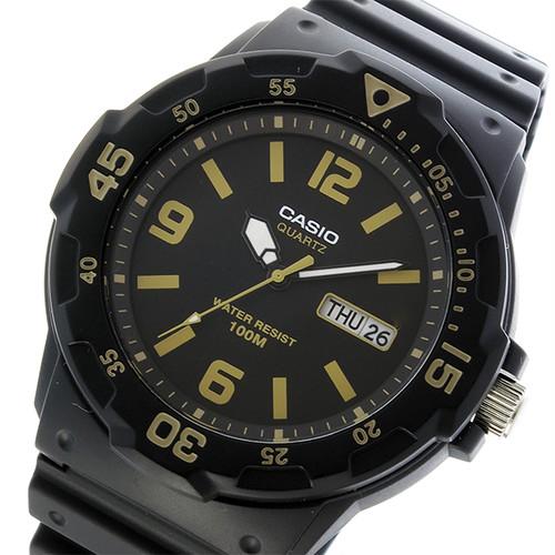 カシオ CASIO クオーツ メンズ 腕時計 MRW-200H-1B3 ブラック ブラック