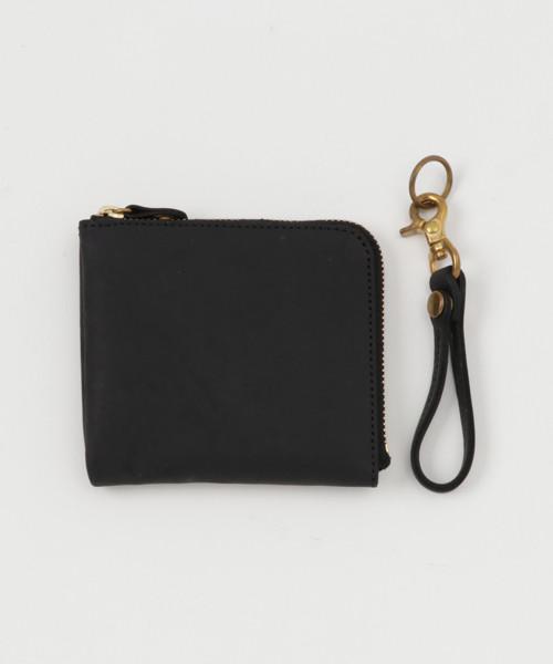 【ESPERANTO】クレイジーカーフ Lzip ミニ財布 (3色展開)