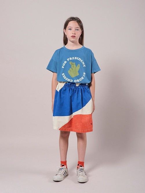BOBO CHOSES ボボショセス Landscape Woven Skirt size:6-7Y(115-125)~10-11Y(140-150)