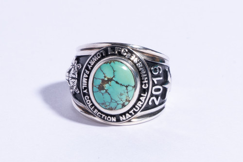 """LFC x College ring """"Chinese Mt."""""""