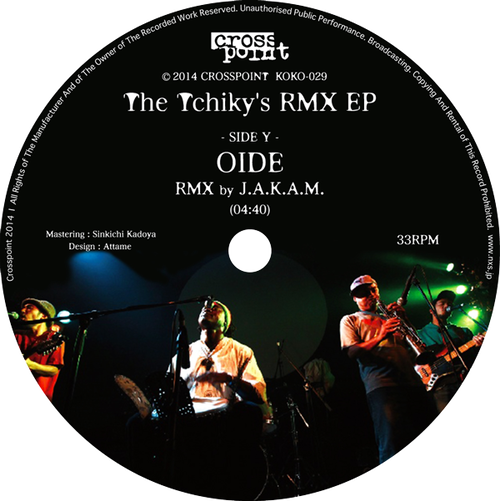 THE TCHIKY'S RMX EP