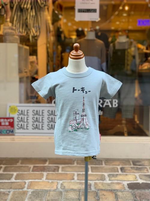 KIDS:OFFICIAL TEAM【オフィシャルチーム】TOKYO T-SHIRT(グレー/90〜140cm)東京Tシャツ