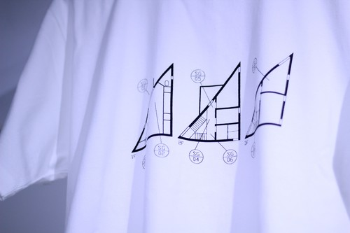 "イエティ(Tシャツ)|Song for Architecture ""HOUSE IN HIROSHIMA"""