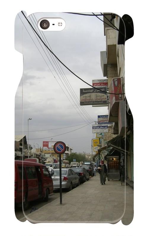 【スマホケース(6/6s)】マンベジの商店街