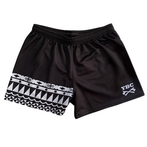 【YBC】Tribal Game Shorts Black