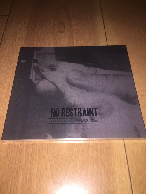 No Restraint - The First 3 EPs CD