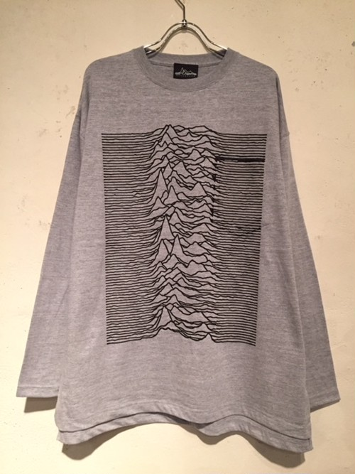 """WIDE SILHOUETTE L/S POCKET Tee """"CP1919"""" (HEATHER GRAY)"""