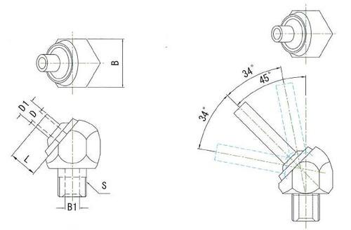 JTAP-1/8-30 高圧専用ノズル