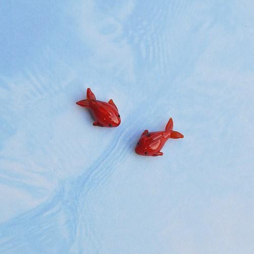 金魚(ガラス製)