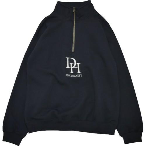HD Half Zip Sweatshirt (Black)