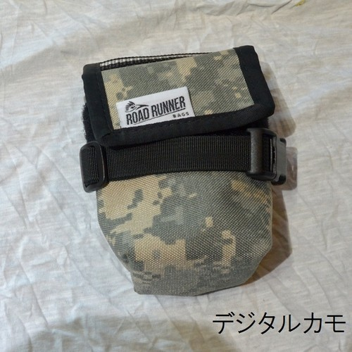 RoadRunnerBags / The Drafter Saddle Bag   デジタルカモ