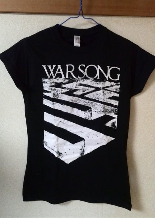 WARSONG ユーロツアー2015 Tシャツ(ガールTシャツのみ)