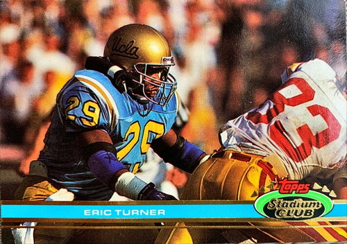 NFLカード 91TOPPS ERIC TURNER #250 BROWNS