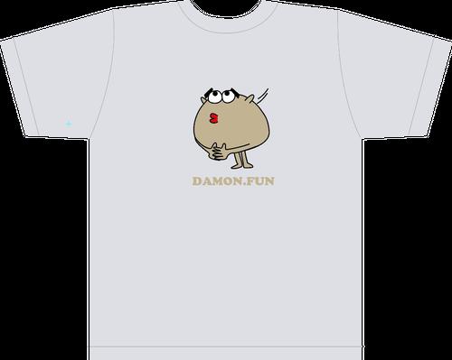カルダモンTシャツ US:S&Mサイズ(キラキラホワイト)