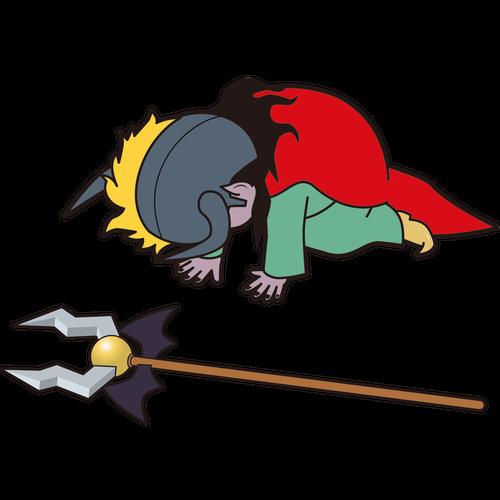 挫折する魔王