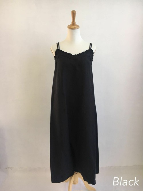 Bilitis dix-sept ans    Linen Camisole Dress