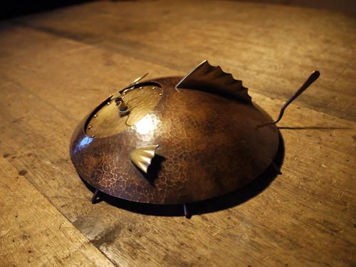 時の住人(トキノスミビト)TypeC 銅製時計