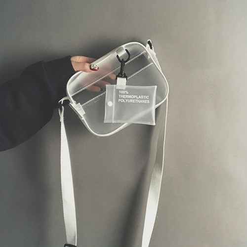 【お取り寄せ商品】small see-through bag 6757
