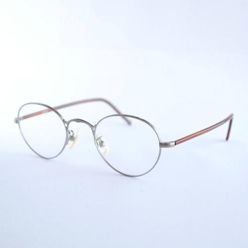 【再入荷】ayame:アヤメ 《OLDSTAR -オールドスター col.Titanium》 眼鏡 ラウンド×ボストン