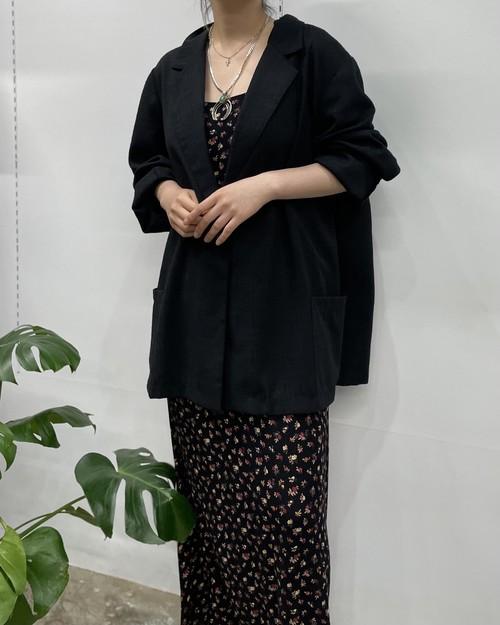 Studio Works polyester × rayon easy jacket 【24w】