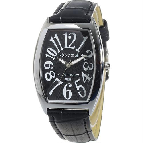 フランク三浦 インターネッツ別注 メンズ 腕時計 FM00IT-BK ブラック/ブラック 【ネット限定】 ブラック