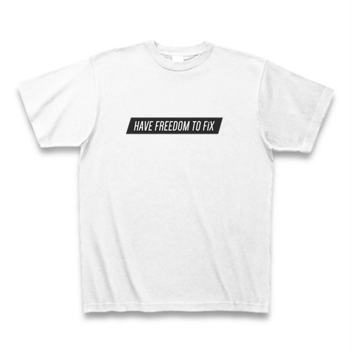 <FiX PARK> ORIGINAL MESSAGE TEE / メッセージTシャツ【完全受注生産品】