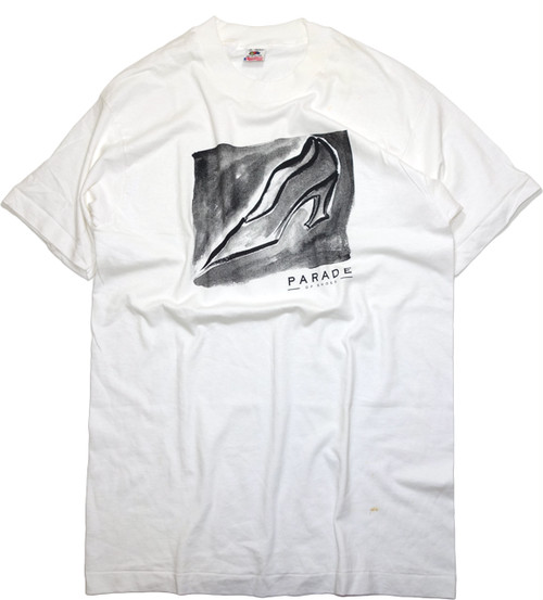 【L】 90s PARADE OF SHOES T-SHIRT