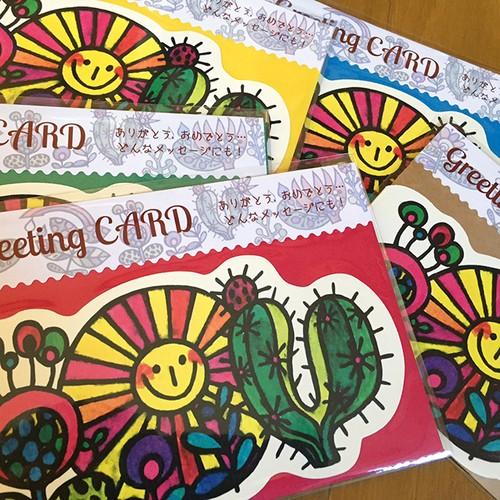 Greeting CARD  「FLOWER」お値下げしました!!