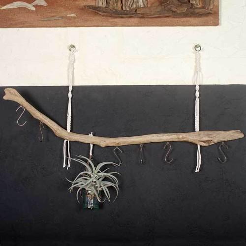 流木の小物掛け、流木アクセサリーハンガー39
