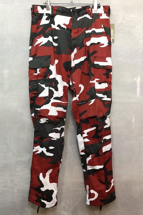 ROTHCO RED CAMO PANTS #1538