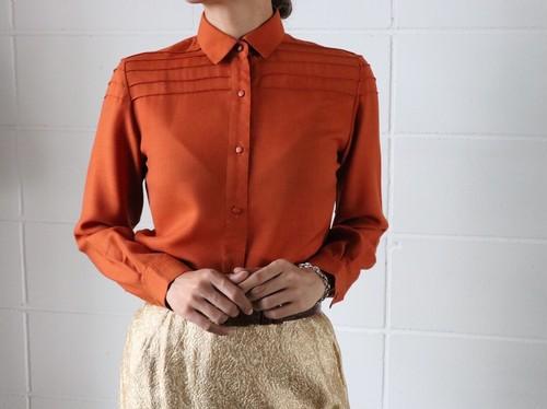 Christian Dior orange blouse