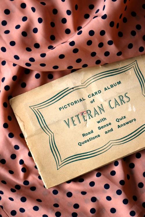 イギリス クラシック・ヴィンテージカー カードアルバム