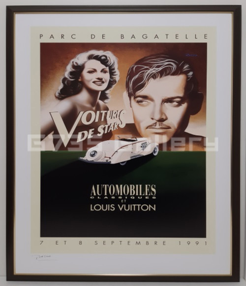 AUTOMOBILES CLASSIQUES AVEC LOUIS VUITTON 1991