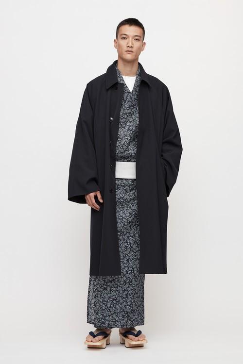 ゆかた / Paisley / Black(With tailoring)