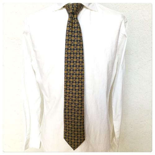 Drake's Silk Tie Hand Made In England