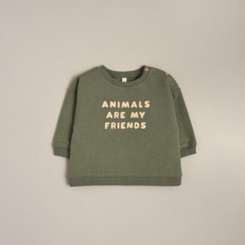 organic zoo 「Animals Are My Friends Sweatshirt」