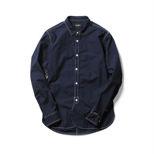 narifuri タイプライターステッチシャツ