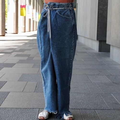 【MAISON EUREKA】VINTAGE REWORK BIGGY PANTS