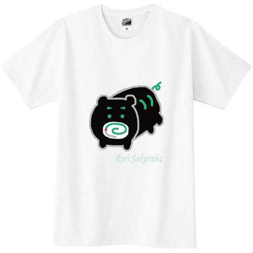 【桜庭るり選べるアバターシリーズ】ぶーぶー スリムTシャツ【全40色!!】