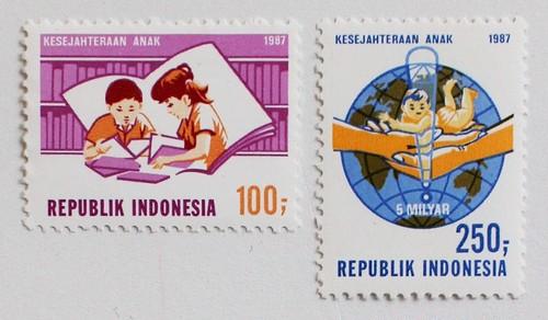 こどもの日 / インドネシア 1987