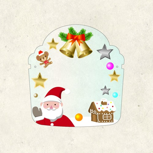 FS0076クリスマススター※メガネフレームは別売りです。