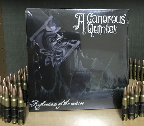 "A CANOROUS QUINTET ""Reflections of the Mirror 7"" vinyl盤"""
