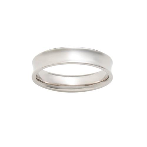[約1ヶ月でお届け]ユニセックス 4.5mm幅 プラチナ 結婚指輪 OCTAVE∞(太め)Bonheur~幸福~「かけがえのない毎日 溢れてくる ありがとう」