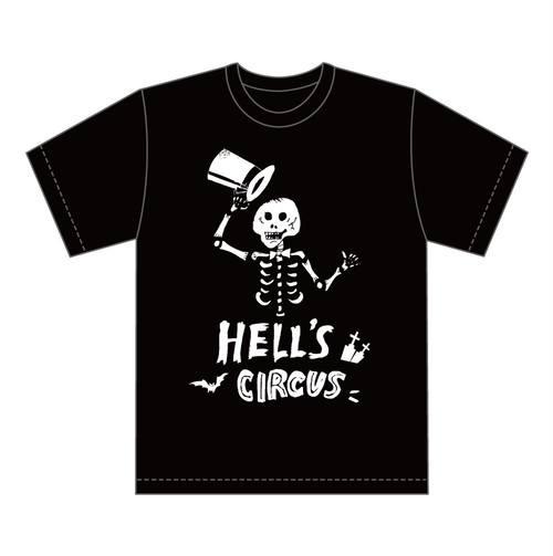 「HELL'S CIRCUS 2017」 Tシャツ
