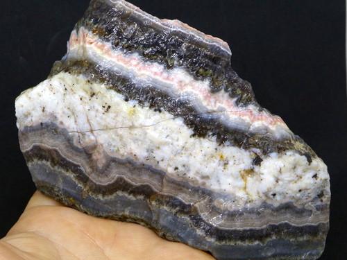 レース アメジスト アゲート デュランゴ 353,6g DLA012 原石 鉱物 天然石 パワーストーン