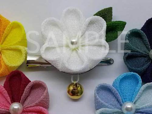 【体験】淺原大雅先生のボンドで作るつまみ細工講座「丸つまみで作る小花のクリップ 」