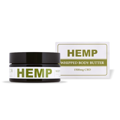 ∞Hemp Whipped Body Butter 1500mg CBD∞