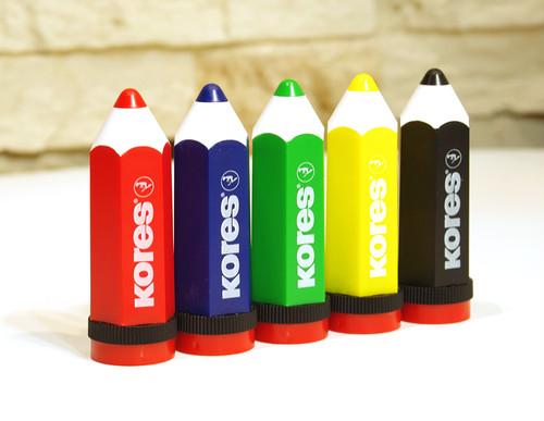 【新品】Kores コレス/ 鉛筆型鉛筆削り Kolorito