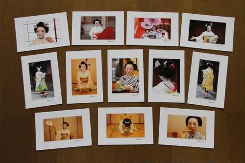 【京舞妓 弥ゑ美】ポストカード12枚セット