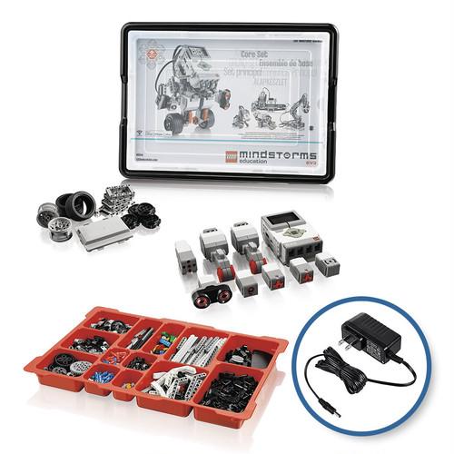 教育版レゴⓇ マインドストームⓇ EV3 基本セット&DC(充電アダプター)パッケージ
